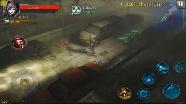 Broken Dawn:Tempest HD Android Game Image 2