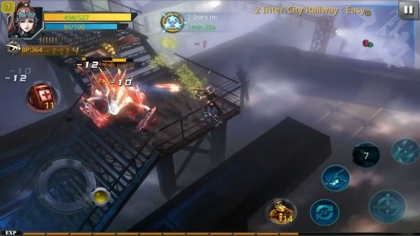 Broken Dawn:Tempest HD Android Game Image 3