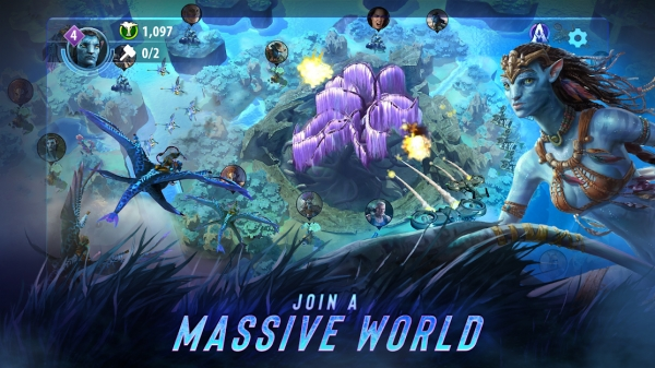 Avatar: Pandora Rising Build And Battle Strategy Android Game Image 1