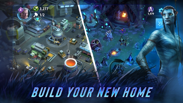 Avatar: Pandora Rising Build And Battle Strategy Android Game Image 2