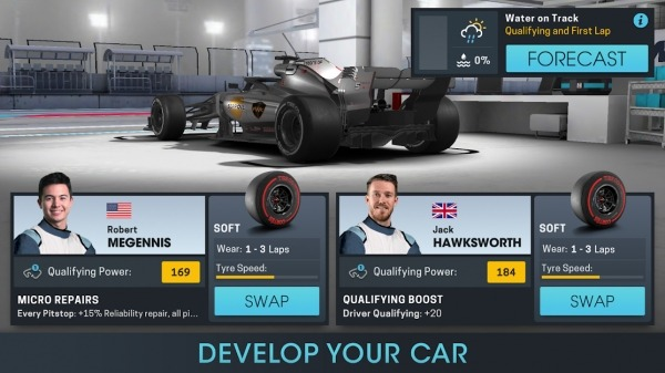 Motorsport Manager Online Android Game Image 3