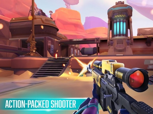 Rise: Shooter Arena Android Game Image 3