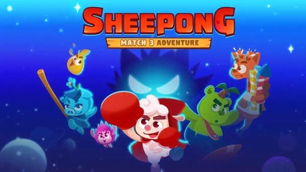 Sheepong : Match-3 Adventure Android Game Image 1