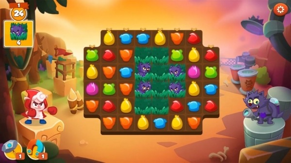 Sheepong : Match-3 Adventure Android Game Image 2