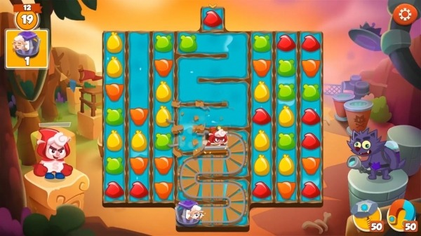 Sheepong : Match-3 Adventure Android Game Image 3