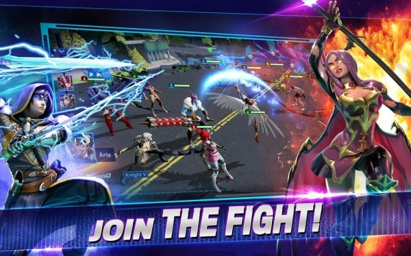 Crystalborne: Heroes Of Fate Android Game Image 3