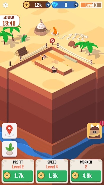 Idle Digging Tycoon Android Game Image 1