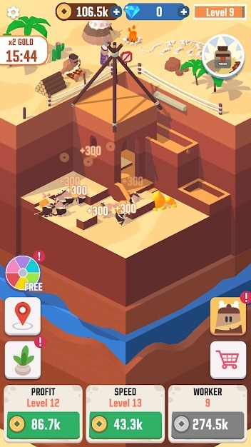 Idle Digging Tycoon Android Game Image 2
