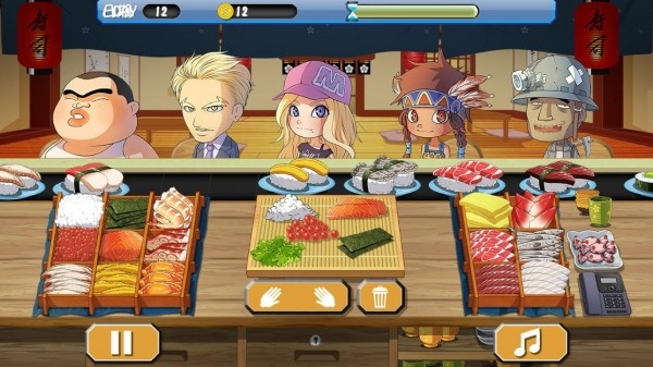 Sushi House - Cooking Master Android Game Image 3