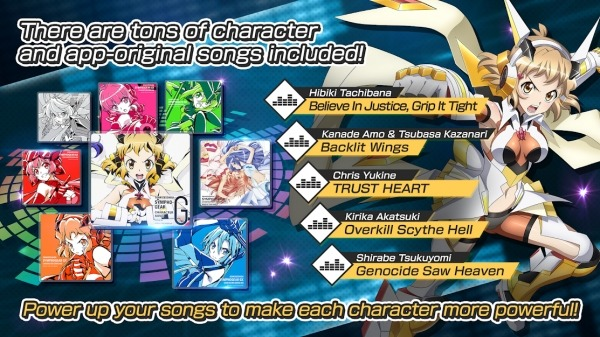 Symphogear XD UNLIMITED Android Game Image 2