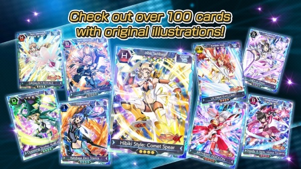Symphogear XD UNLIMITED Android Game Image 5