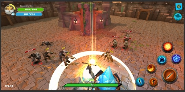 Knight's Life Hero Defense, Online RPG & PVP Arena Android Game Image 1