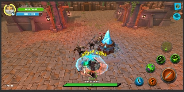 Knight's Life Hero Defense, Online RPG & PVP Arena Android Game Image 2