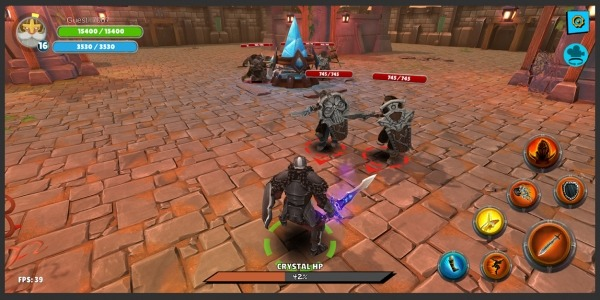 Knight's Life Hero Defense, Online RPG & PVP Arena Android Game Image 3