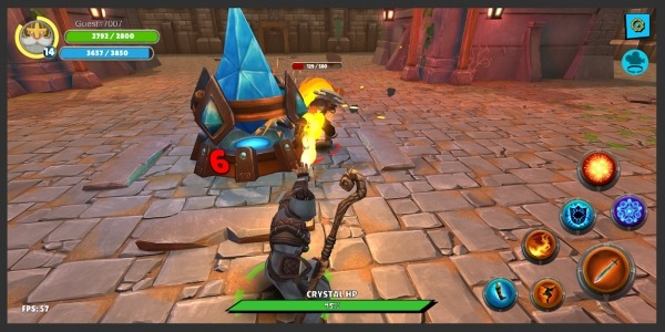 Knight's Life Hero Defense, Online RPG & PVP Arena Android Game Image 4