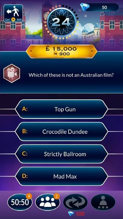 Who Wants To Be A Millionaire? Trivia & Quiz Game Android Game Image 2