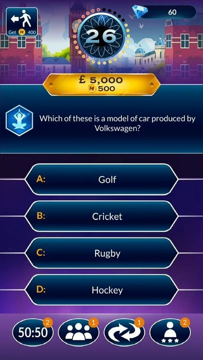 Who Wants To Be A Millionaire? Trivia & Quiz Game Android Game Image 3