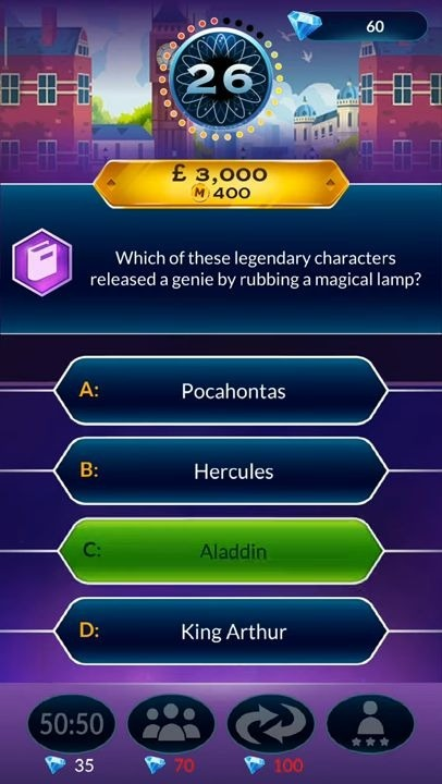 Who Wants To Be A Millionaire? Trivia & Quiz Game Android Game Image 4