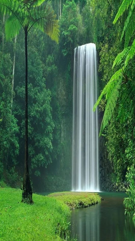 Waterfall Android Wallpaper Image 1