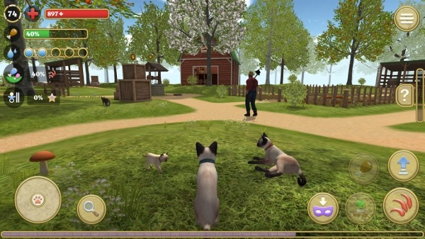 Cat Simulator 2020 Android Game Image 1