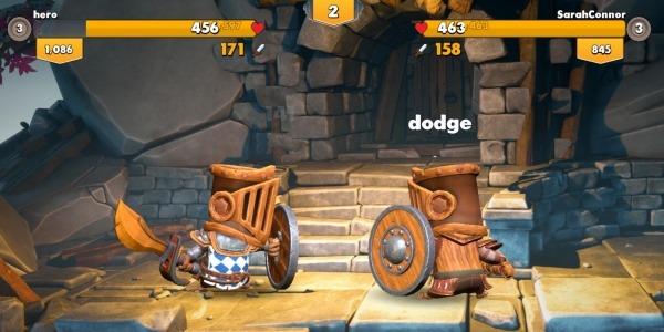 Big Helmet Heroes Android Game Image 2