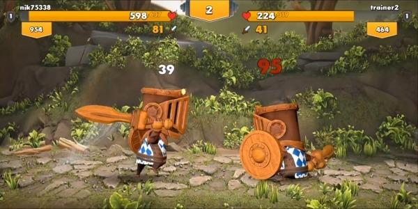 Big Helmet Heroes Android Game Image 3