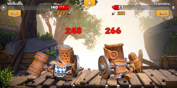 Big Helmet Heroes Android Game Image 5