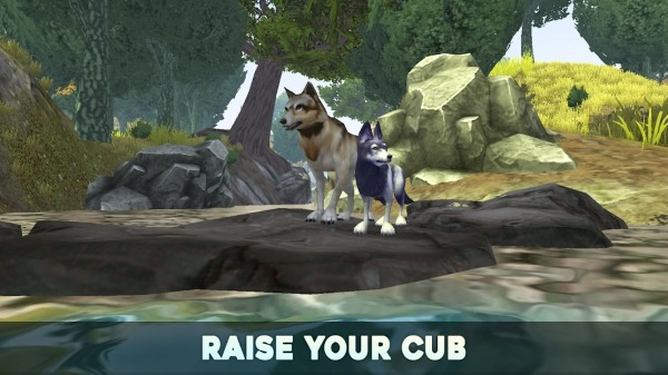 Wolf Tales - Home & Heart Android Game Image 2