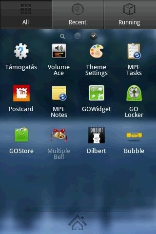 Fairytale Go Launcher Android Theme Image 2