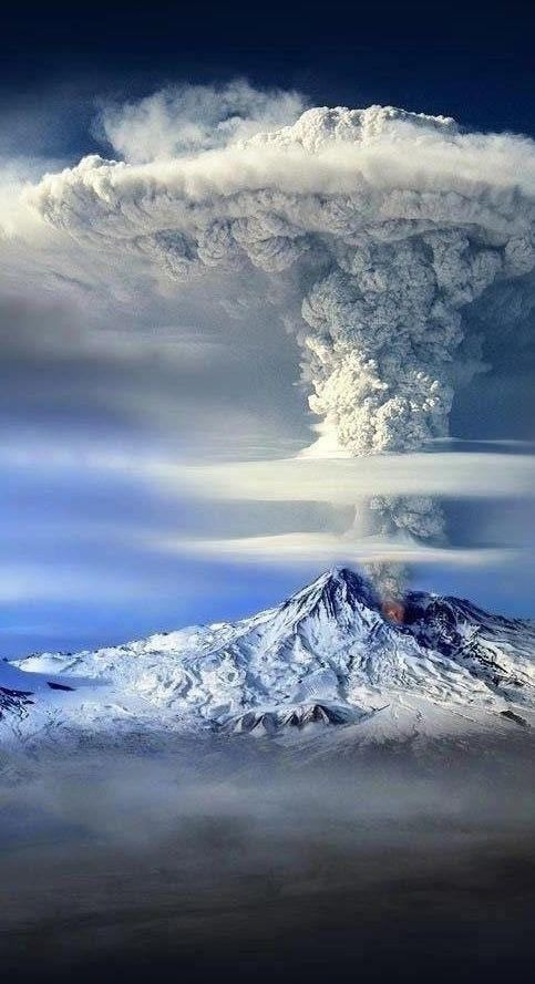 Volcano Mobile Phone Wallpaper Image 1