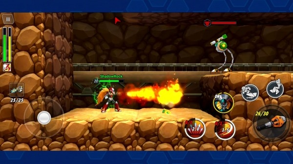 MEGA MAN X DiVE Android Game Image 2