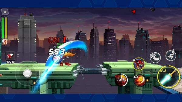 MEGA MAN X DiVE Android Game Image 3
