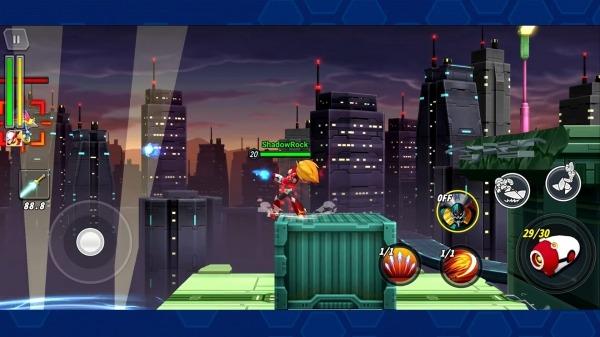 MEGA MAN X DiVE Android Game Image 4