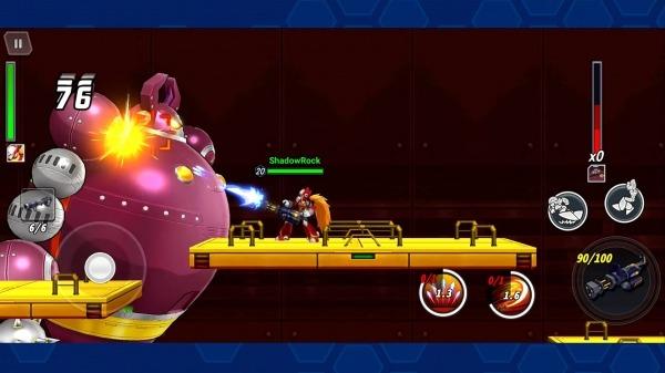 MEGA MAN X DiVE Android Game Image 5