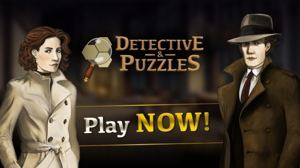 Detective & Puzzles - Mystery Jigsaw Game Android Game Image 1