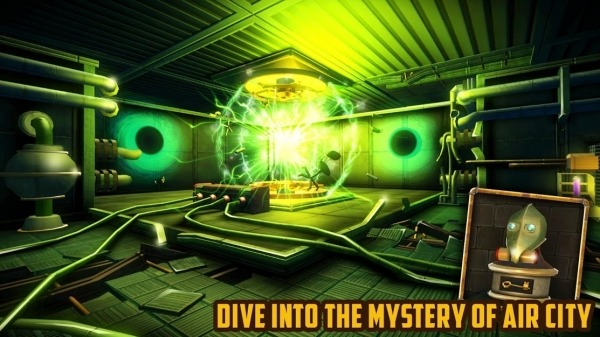Escape Machine City: Airborne Android Game Image 1