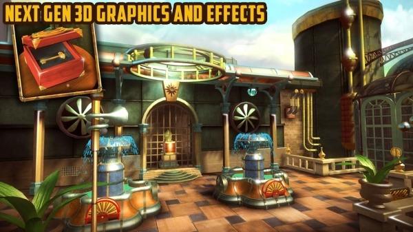 Escape Machine City: Airborne Android Game Image 2