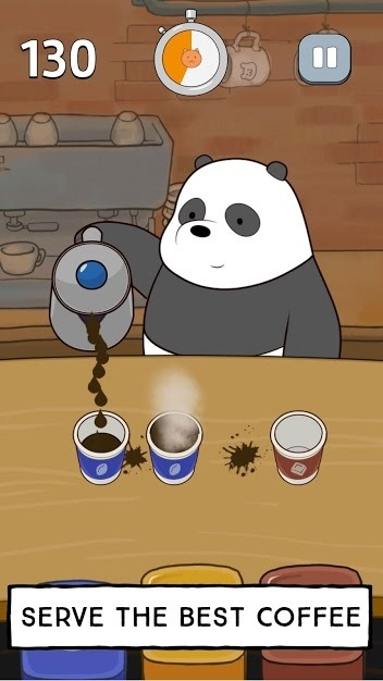 We Bare Bears - Free Fur All: Mini Game Arcade Android Game Image 5