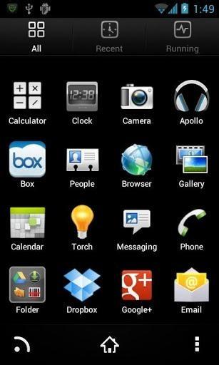 HTC Sense Go Launcher Android Theme Image 2