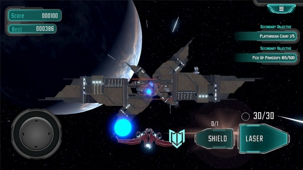 Asteroids Star Pilot Android Game Image 3