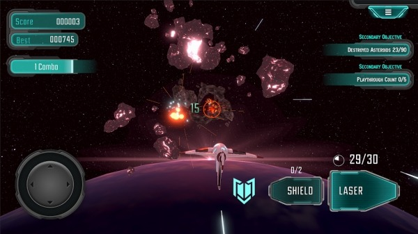Asteroids Star Pilot Android Game Image 4