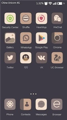Dark Woods Hola Launcher Android Theme Image 2