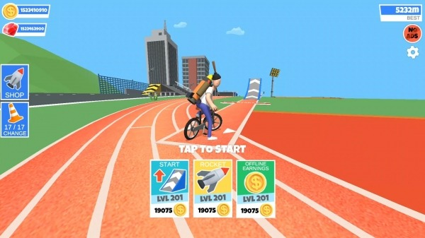Bike Hop: Be A Crazy BMX Rider! Android Game Image 1