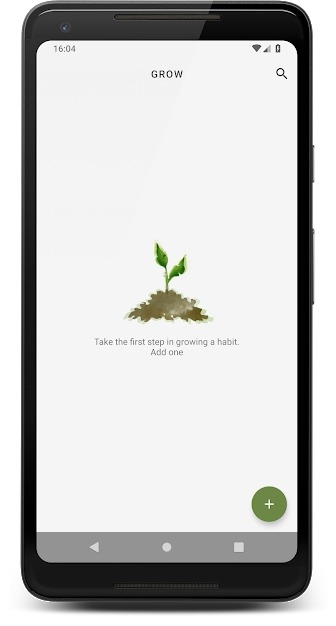 Grow - Habit Tracking Android Application Image 1