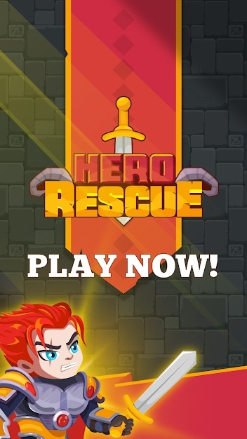 Hero Rescue Android Game Image 1