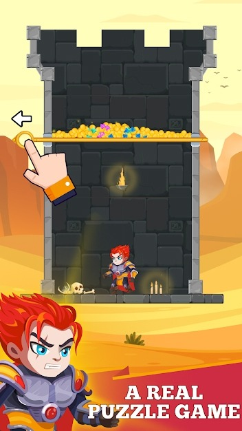 Hero Rescue Android Game Image 2
