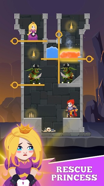 Hero Rescue Android Game Image 4