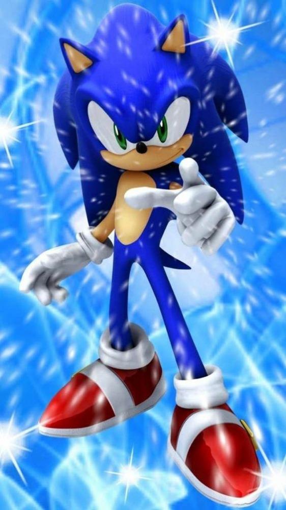 Sonic Mobile Phone Wallpaper Image 1