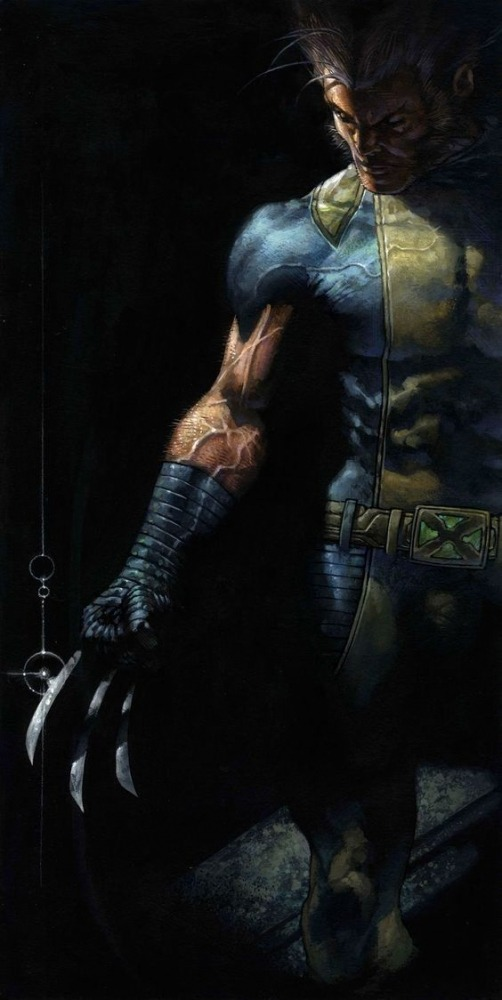 Wolverine Mobile Phone Wallpaper Image 1