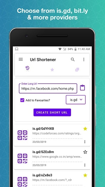 URL Shortener Android Application Image 3